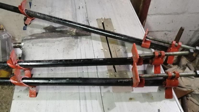 Как сделать струбцины своими руками| пошагово с фото