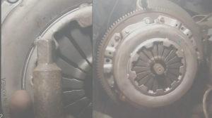 Центруем диск сципления