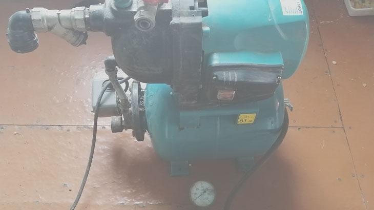давление в гидроаккумуляторе без воды