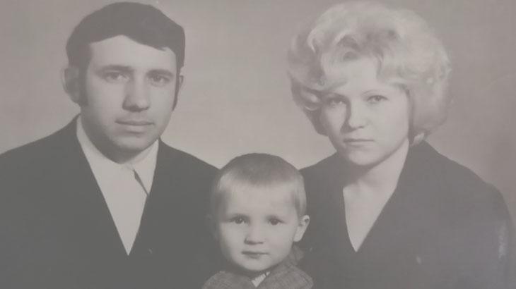 Фото мои родители и я