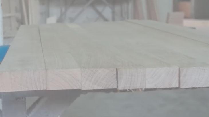 Сборка мебельного щита
