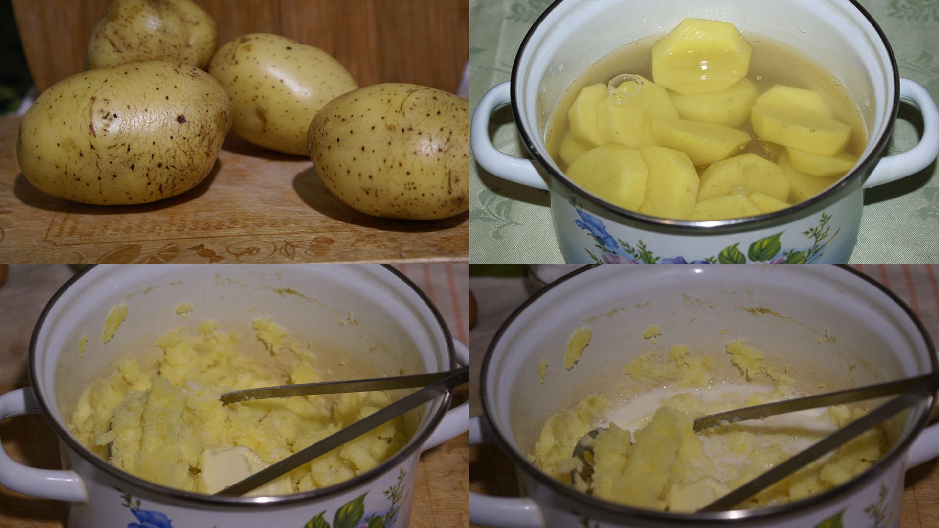 Деревенские шанежки с картошкой, запеченные в духовке
