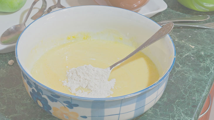 рецепт вкусного пирога с яблоками в духовке