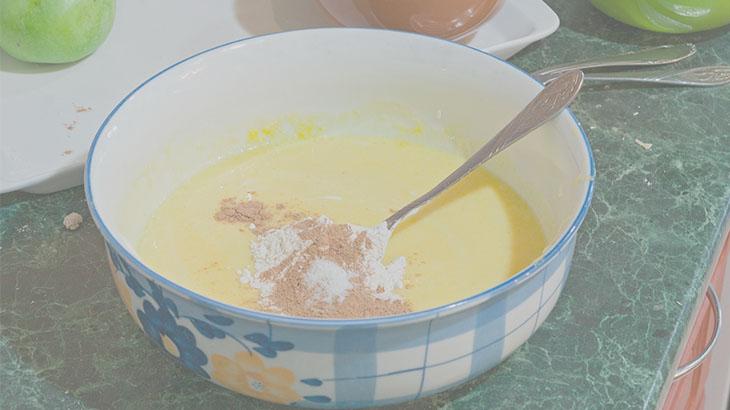 вкусный рецепт с яблоками в духовке