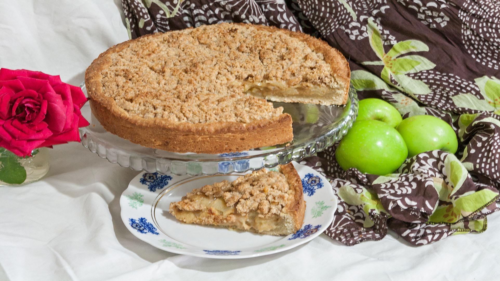 Как приготовить яблочный пирог в духовке| пошаговый рецепт с фото